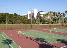 Ibusuki Iwasaki Hotel Tennis Court